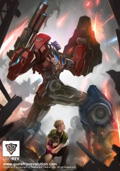 Optimus Prime by GunshipRevolution