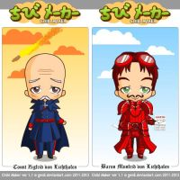 Chibi version of Hannetzbirger Flyers by BasileusIoannis