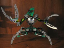 Bionicle Custom: Nidhiki by AleximusPrime