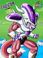 Dragon ball z - Freeza 3rd Form by Bejitsu