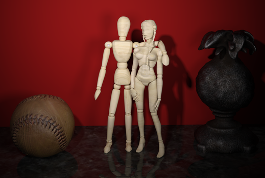 Mr and Mrs Mannequin by tombraider4ever