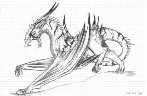 Doodle Dragon by Revie6661