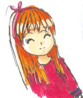 Random Ginger haired girl by TopHat-And-Tentacles