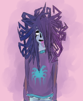 spider chick by nopesoap