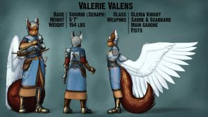 Valerie - Character Sheet by ArcheKruz
