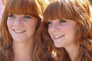 Red Hair twins 2010 by suskenl09