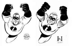 Mr. Incredible for DSC - Then vs. Now by IanJMiller