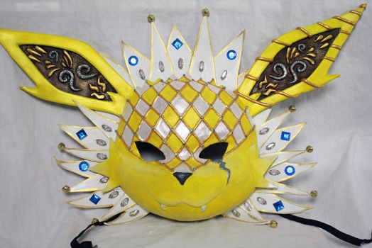 Jolteon Carnival Mask by Cultureshock007