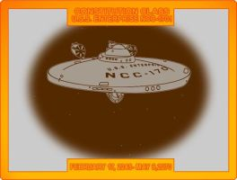 USS Enterprise 1701 by CaptainBarringer