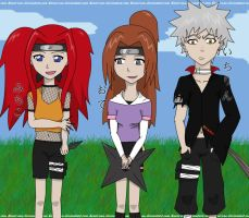 My Naruto Team... by Konin-san