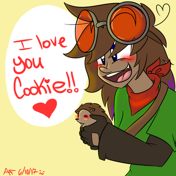 (AOSAC) Skylar: I LOVE YOU COOKIE by CrazyPotatoQueen