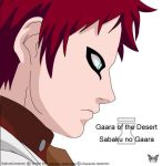 Sabaku no Gaara Vector Art by Sakuracorazonn
