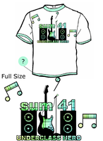 Sum 41 Full and T shirt by BM-GFX