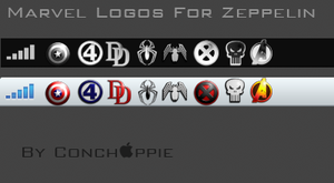 Zeppelin carrier logo Marvel Pack by conchappie