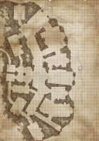 Temple map for dungeons and dragons by Insagnia