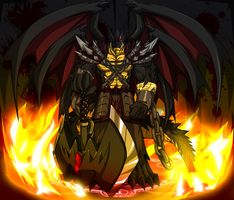 Chaos The Dragon of Fury by WarGreymon43