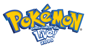 Pokemon Live 2015 logo by SuperSonicBros2012