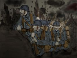 WW1 Verdun 1916 by Gozac1198
