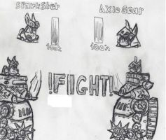 Fight rough draft by cobra10
