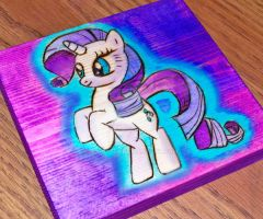 Rarity Wood Burning by bapity88