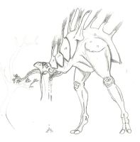 Old Alien Animal Concept by TheRepublicanMartian