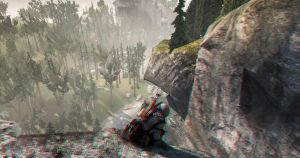 Assassin's Creed III 3D Anaglyph (Cliff) by Vule76