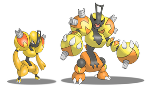 Joltre and Evolution by 070trigger