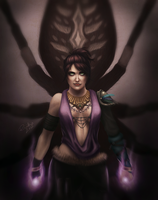 Morrigan. by riikozor