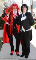 Grell Caught Sebastian by fallnangeltears