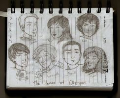 The seven heroes by talita-rj