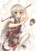 Nyaruko-san by Coffee-Straw-LuZi