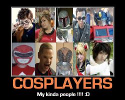 Cosplayers by DoctorWhoOne