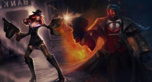 Miss Fortune and Graves by MissF0rtune