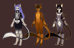 Halloween Adoptables - [CLOSED] by Siraviena