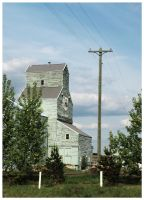 Great Canadian Grain Elevator by anisia-gypsy