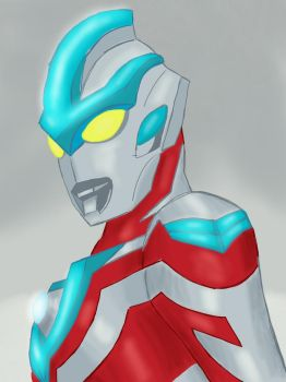 Ultraman Ginga  by monkeygeek