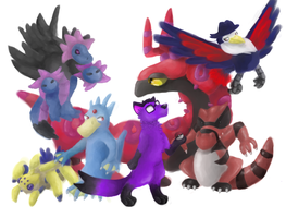 The Team by wolfmeg