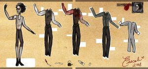 + Sweeney Todd Paper Dolls + by esscoh