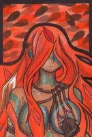 The Shaman - Autumn- Aceo 1 by Panda-Yuki