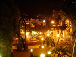 Madeira: Funchal by night 2 by lxddbl