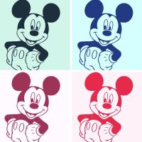 Mickey Mouse pop art by DevintheCool