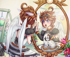 Lovely Reflection by Lady-of-Link