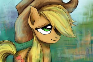 Apple Jack - Print 0007 by BuckingAwesomeArt