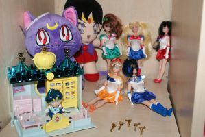 My Sailor Moon Collection by sailorchibimoonalice