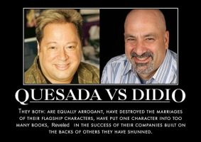 Joe Quesada vs Dan Didio by MexPirateRed