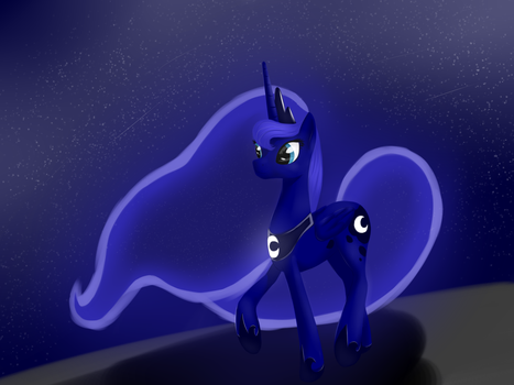Princess Luna by ShyAnonymous
