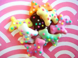 Doggie Animal Cookies by KawaiiCulture