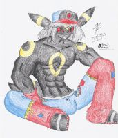 Sitting up by Lucario1759