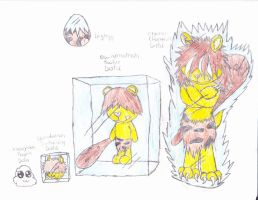 htf digimon cro-marmot by anolelightdragon