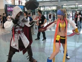 overdue Anime Expo pic by Rikku92